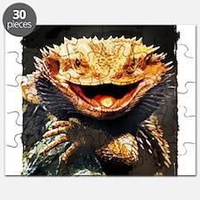 Grotesque Bearded Dragon Lizard Puzzle