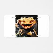 Grotesque Bearded Dragon Li Aluminum License Plate