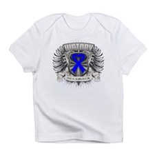 Colon Cancer Victory Infant T-Shirt