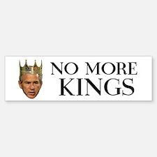 King George Bumper Bumper Bumper Sticker