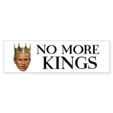 King George Bumper Bumper Sticker