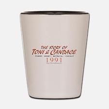 Portlandia Story Of Toni And Candace Shot Glass