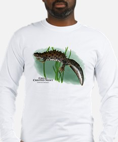 Great Crested Newt Long Sleeve T-Shirt