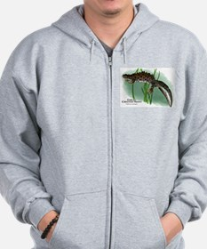 Great Crested Newt Zip Hoodie