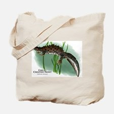 Great Crested Newt Tote Bag