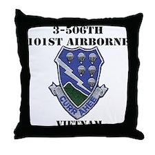 3-506TH CURRAHEE Throw Pillow
