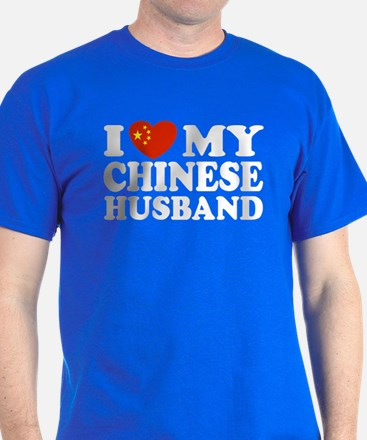 I Love My Chinese Husband T-Shirt