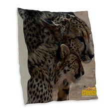 B2 And Phoenix Burlap Throw Pillow