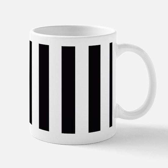 With A Pink Stripe Mugs