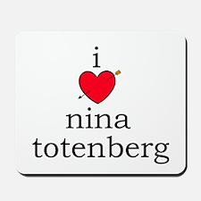 Nina Totenberg Mousepad