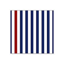 Nautical Red Stripe Sticker