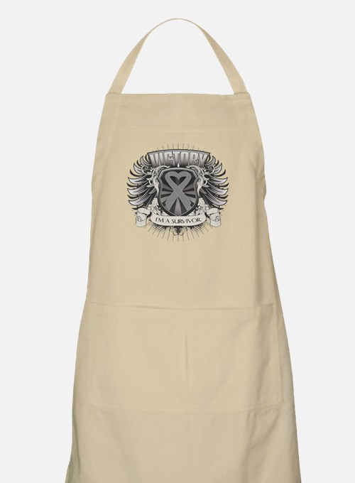 Brain Cancer Victory Apron