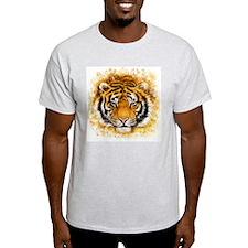 Artistic Tiger Face T-Shirt