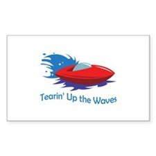 TEARIN UP THE WAVES Decal