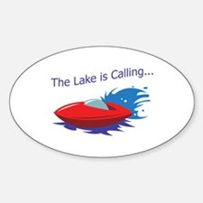 THE LAKE IS CALLING Decal