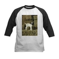 Kid Playing In The Hay Baseball Jersey