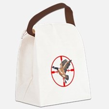 CANADA GOOSE IN CROSSHAIR Canvas Lunch Bag