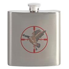 CANADA GOOSE IN CROSSHAIR Flask
