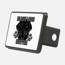 Black Labs Matter Hitch Cover
