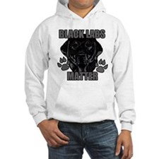 Black Labs Matter Jumper Hoody