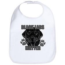 Black Labs Matter Bib