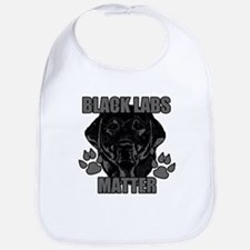 Black Labs Matter Bib