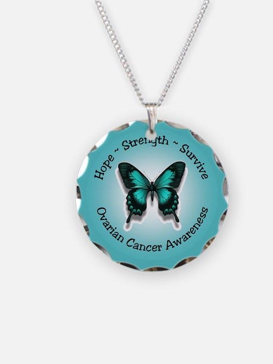 Ovarian Cancer Awareness Necklace