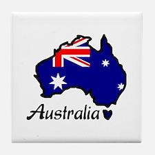 AUSTRALIA Tile Coaster