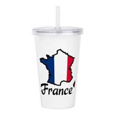 FRANCE Acrylic Double-wall Tumbler