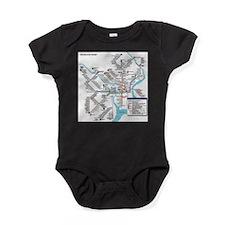 Pennsylvania Public Transportation T Baby Bodysuit