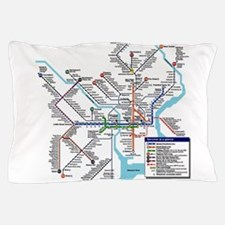 Pennsylvania Public Transportation Tra Pillow Case