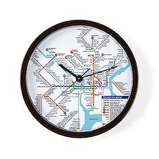 Pennsylvania Public Transportation Tran Wall Clock