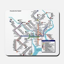 Pennsylvania Public Transportation Trans Mousepad