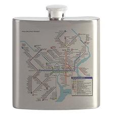 Pennsylvania Public Transportation Transit M Flask