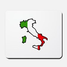 ITALY MAP FLAG Mousepad