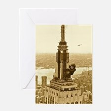 King Kong: Empire State Building Greeting Cards