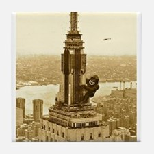 King Kong: Empire State Building Tile Coaster