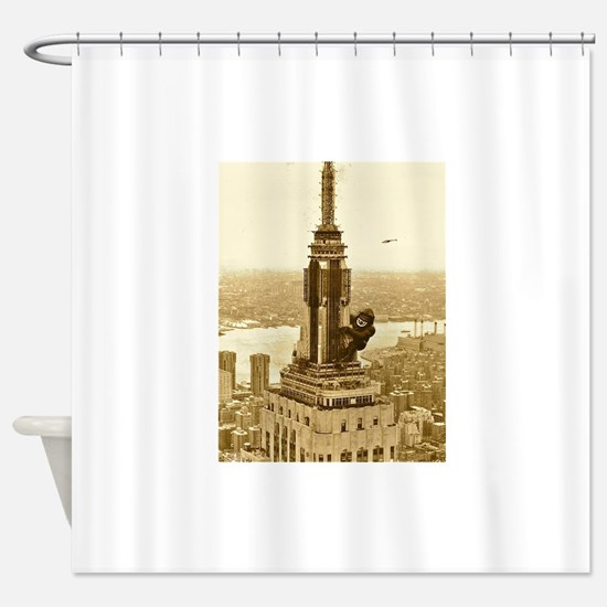 King Kong: Empire State Building Shower Curtain