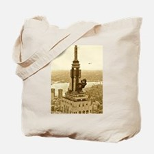 King Kong: Empire State Building Tote Bag