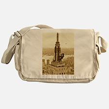 King Kong: Empire State Building Messenger Bag