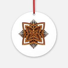 Art Deco Brooch Ornament (Round)