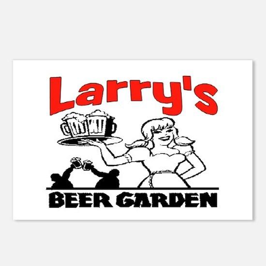 LARRY'S BEER GARDEN Postcards (Package of 8)