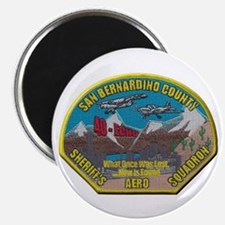 San Bernardino Sheriff Aero Squadron Magnets