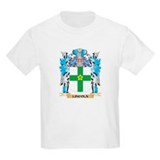 Lincoln Coat of Arms - Family Crest T-Shirt