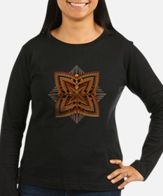 Art Deco Brooch Long Sleeve T-Shirt