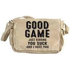 Good Game You Suck Messenger Bag