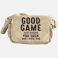 Good Game You Suck Messenger Bag