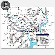 Pennsylvania Public Transportation Transit Puzzle