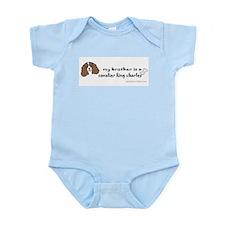 Cute King charles spaniels Infant Bodysuit
