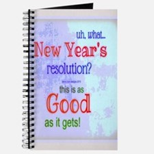 New Year's Message Journal